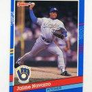 1991 Donruss Baseball #216 Jaime Navarro - Milwaukee Brewers