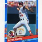 1991 Donruss Baseball #206 Bryan Harvey - California Angels