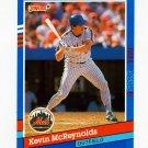 1991 Donruss Baseball #191 Kevin McReynolds - New York Mets