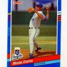 1991 Donruss Baseball #185 Storm Davis - Kansas City Royals