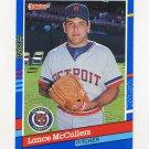 1991 Donruss Baseball #133 Lance McCullers - Detroit Tigers