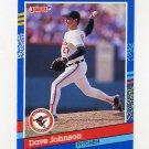 1991 Donruss Baseball #126 Dave Johnson - Baltimore Orioles