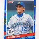 1991 Donruss Baseball #119 Pete O'Brien - Seattle Mariners