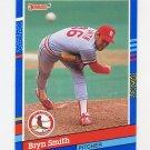 1991 Donruss Baseball #113 Bryn Smith - St. Louis Cardinals