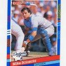 1991 Donruss Baseball #112 Mike Scioscia - Los Angeles Dodgers