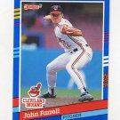 1991 Donruss Baseball #106 John Farrell - Cleveland Indians