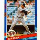 1991 Donruss Baseball #095 Kent Hrbek - Minnesota Twins