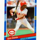 1991 Donruss Baseball #084 Eric Davis - Cincinnati Reds