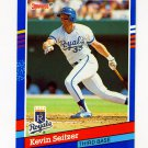 1991 Donruss Baseball #073 Kevin Seitzer - Kansas City Royals