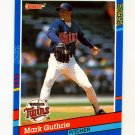1991 Donruss Baseball #064 Mark Guthrie - Minnesota Twins