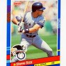 1991 Donruss Baseball #048 Steve Sax AS - Los Angeles Dodgers