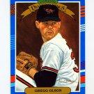 1991 Donruss Baseball #023 Gregg Olson DK - Baltimore Orioles