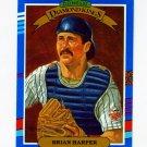 1991 Donruss Baseball #022 Brian Harper DK - Minnesota Twins