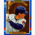 1991 Donruss Baseball #014 Ryne Sandberg DK - Chicago Cubs ExMt