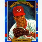 1991 Donruss Baseball #005 Barry Larkin DK - Cincinnati Reds