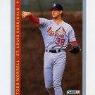 1993 Fleer Baseball #135 Todd Worrell - St. Louis Cardinals