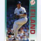 1992 Fleer Baseball #223 Dave Eiland - New York Yankees