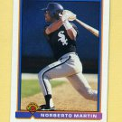1991 Bowman Baseball #346 Norberto Martin RC - Chicago White Sox
