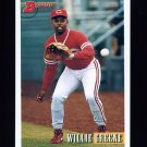 1993 Bowman Baseball #638 Willie Greene - Cincinnati Reds