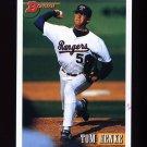 1993 Bowman Baseball #461 Tom Henke - Texas Rangers