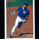 1993 Bowman Baseball #449 Greg Gagne - Kansas City Royals