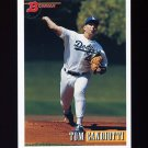 1993 Bowman Baseball #322 Tom Candiotti - Los Angeles Dodgers