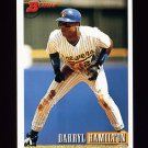 1993 Bowman Baseball #239 Darryl Hamilton - Milwaukee Brewers