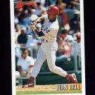 1993 Bowman Baseball #048 Juan Bell - Philadelphia Phillies