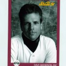 1991 Studio Baseball #251 Dave Anderson - San Francisco Giants
