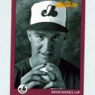 1991 Studio Baseball #192 Brian Barnes RC - Montreal Expos
