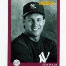 1991 Studio Baseball #100 Steve Sax - New York Yankees