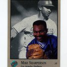 1992 Studio Baseball #049 Mike Sharperson - Los Angeles Dodgers