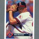 1993 Donruss Baseball #665 Mike Butcher - California Angels
