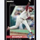 1992 Pinnacle Baseball #557 Cliff Brantley - Philadelphia Phillies