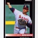 1992 Pinnacle Baseball #463 Don Robinson - California Angels