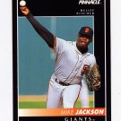 1992 Pinnacle Baseball #437 Mike Jackson - San Francisco Giants
