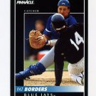 1992 Pinnacle Baseball #421 Pat Borders - Toronto Blue Jays
