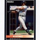 1992 Pinnacle Baseball #380 Chito Martinez - Baltimore Orioles