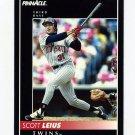 1992 Pinnacle Baseball #365 Scott Leius - Minnesota Twins