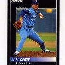 1992 Pinnacle Baseball #359 Mark Davis - Kansas City Royals