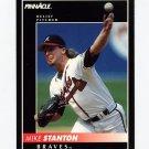 1992 Pinnacle Baseball #350 Mike Stanton - Atlanta Braves