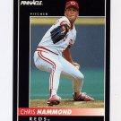1992 Pinnacle Baseball #335 Chris Hammond - Cincinnati Reds