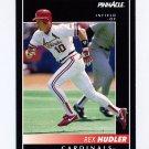 1992 Pinnacle Baseball #315 Rex Hudler - St. Louis Cardinals