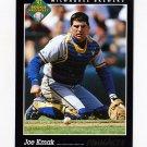 1993 Pinnacle Baseball #575 Joe Kmak - Milwaukee Brewers