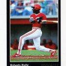 1993 Pinnacle Baseball #520 Roberto Kelly - Cincinnati Reds