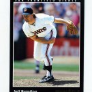 1993 Pinnacle Baseball #512 Jeff Brantley - San Francisco Giants