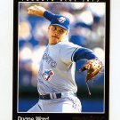 1993 Pinnacle Baseball #340 Duane Ward - Toronto Blue Jays