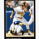 1993 Pinnacle Baseball #338 Lance Blankenship - Oakland A's