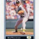 1992 Leaf Baseball #390 Bob Welch - Oakland A's