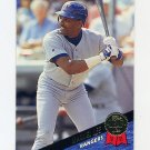 1993 Leaf Baseball #381 Manuel Lee - Texas Rangers